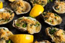 Italian Baked Oysters