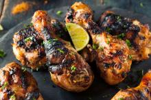 Fiery Jerk Chicken