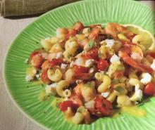 Lemony Pasta Seafood Salad