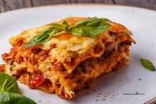 Lasagne with Rich Meat Sauce