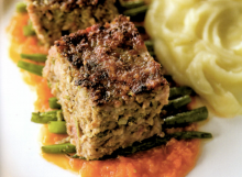 Meatloaf with Tomato Habanero Gravy