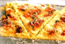 Soft Polenta with Basil Oil | Louisiana Kitchen & Culture