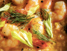 Rustic Shrimp Bisque