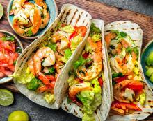 Louisiana Shrimp Tacos