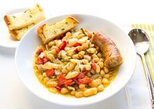 White Beans with Italian Sausage