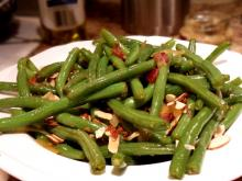 Cajun Green Bean Stir-fry