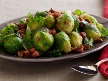 Italian Style Brussels Sprouts And Chestnuts