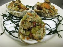 Cajun Stuffed Oysters
