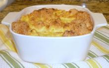 Cheese Grits Soufflé