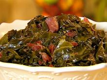 Ham Bone and Collard Greens Soup