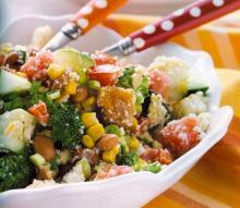 Yummy Cornbread Salad