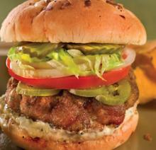 Emeril's Crawfish Burgers