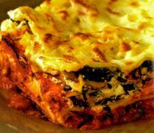 Quick Creamy Seafood Lasagna