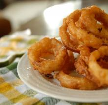 Emeril's Buttermilk Onion Rings