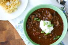 Emeril's Slow Cooker Chili