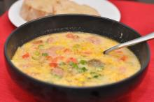 Louisiana Cajun Corn Chowder
