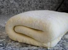 Blitz Puff Pastry Dough