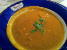 Crawfish Pumpkin Soup