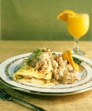 New Orleans Seafood  Omelet