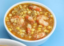 Louisiana Corn and Shrimp Soup