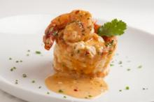 Sizzling Shrimp in Pastry Shell