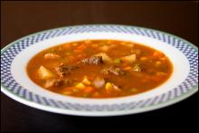 Home Made Vegetable Beef Soup