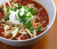 Emeril's Vegetarian Chili