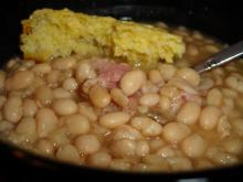 Hearty White Bean Soup With Ham and Tasso