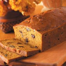 Pumpkin Bread With Pecans