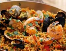 Seafood Andouille Paella
