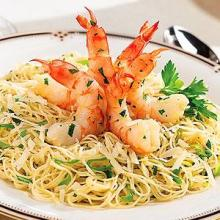 holiday shrimp pasta