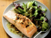Oven-Roasted Salmon Fillets with Almond Vinaigrette