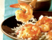 Plumped Ginger-Caramel Shrimp
