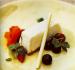 White Chocolate and Meyer Lemon Semifreddo with Vanilla-Poached Berries