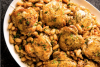 Braised Chicken Thighs with White Beans