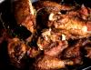 Chicken Fricassee with Garlic and Red Wine Vinegar