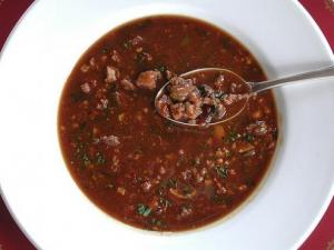 Turtle Soup with Sherry